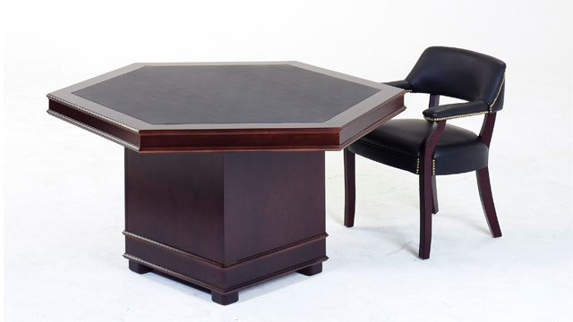 macphersons_partners_veneer_hexagonal_conference_table