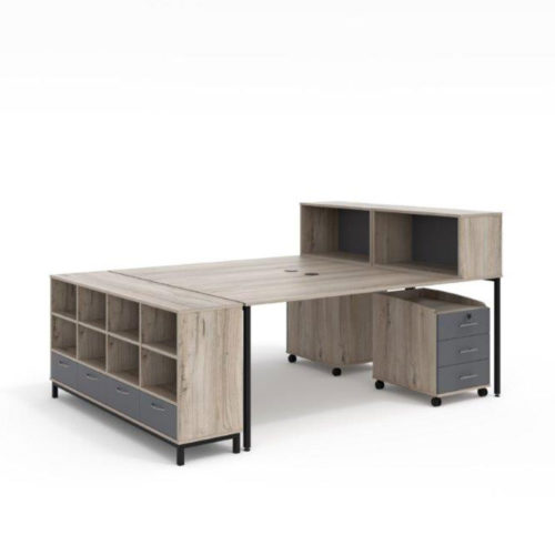 macphersons_office_furniture_durban_2_way_cluster_with_end_storage