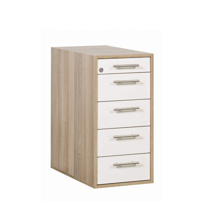 macphersons_school_furniture_durban_storage_euro_slimline_desk_high_pedestal